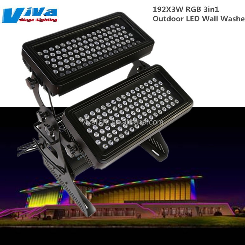 192x3w rgb 3in1 outdoor led wall washer light buy wall. Black Bedroom Furniture Sets. Home Design Ideas