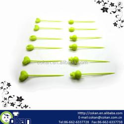 12pcs Plastic fruit pick set,cocktail pick,fruit fork CK-KT375