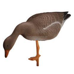 vivid goose decoy feeding position