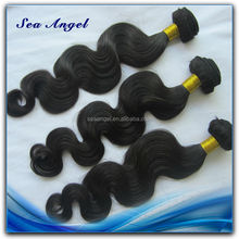 Tangle Free Natural Colour Human Hair Wigs Bangs