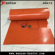 Best flexible Spring Fixed Silicone Rubber Oil Tank Heater