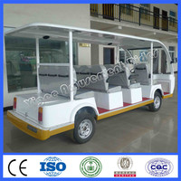 2015 very cheap cars from china electrical vehicle 11 seats battery tourist car