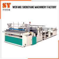Low Price Toilet Big Rolls Paper Manufacturing Equipment