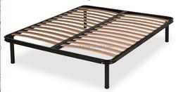 wooden furniture frames/strengthen wooden slatted bed frame/recycled pine furniture with metal frame