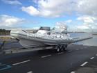 liya 27ft chinês rib barco de casco rígido de fibra de vidro barco inflável