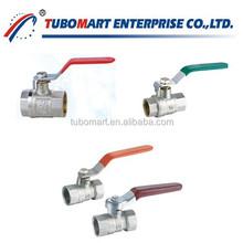 Brass dn20 float ball valve dn40