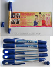 Customized design low price ad banner pen/ad banner pen