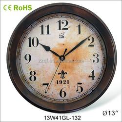 2014 antique style wooden retro flip clock (13W41GL-132)