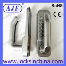 High quality and security Mechanical digital door lock with handle