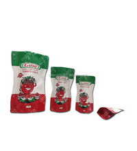flexible printing and aluminum foil laminated packaging plastic bags for ketchup