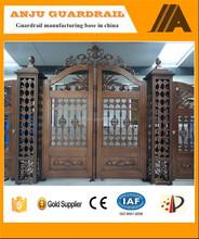 AJLY-612 Alibaba supplier house main/entrance gate design for house/villa