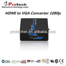 hdmi to vga converter box 1080p@60HZ linked by USB Power Cable