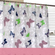 Promotional bath shower windows curtain, durable bath curtain