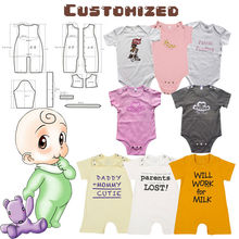 Custom-made 100% cotton baby clothes made in china