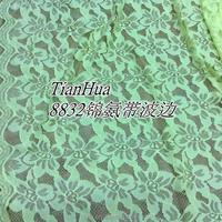 elegant lace fabric supermarket heavy raschel lace fabric