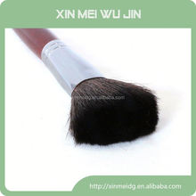 nylon kabuki make-up brush colored hair acrylic brush