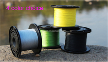 4 Strand colorful spectra 500 m PE material braid fishing line