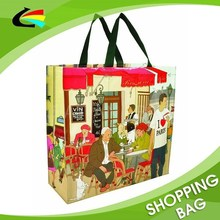 Foldable PP Woven Shopping Tote Market Tote