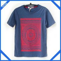 2014 new design 100% percent cotton t shirts led companies china