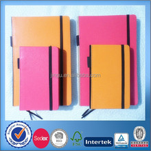 2015 leather paper notebook series with penholder