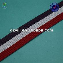 color woven twill stripe
