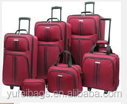 World top ODM Factory Sale abs pc trolley case travel luggage bags YF-1507S1LB119