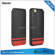 pu leather cell phone case for iphone 6 plus