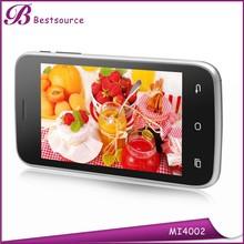 New hot 4'' 800*480HD screen XMM6321 dual core 512M+4G memory f0.3/r2.0 camera dual sim card android smart design mobile phone