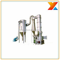 Blood meal revolving fluidized drying machine