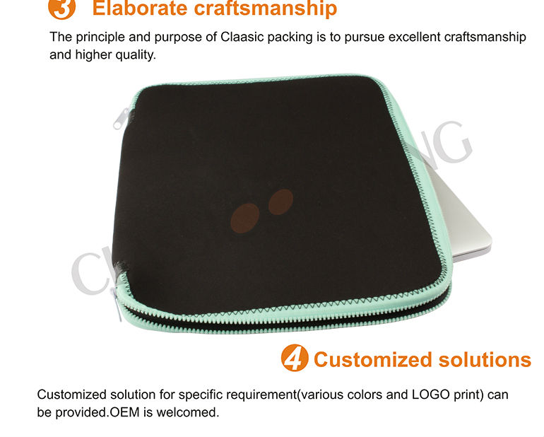 2015 fashion nylon neoprene laptop bag