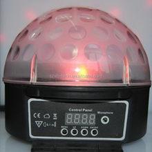 Good quality new arrival led disco ball light. rgb cheap