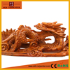 Chinese antique artificial Lying dragon statues for sale Rosewood art minds wood crafts animal sculpture