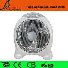 Plastic 16 inch quite box fan with 3 blades