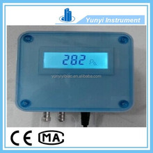 smart 4-20ma differential pressure capacitive transmitter with LCD local display