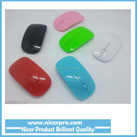 Computer PC Laptop Desktop Cheap Ultra Thin USB Optical Wireless Mouse 2.4G Receiver Super Slim Mouse