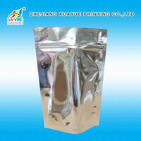 2015 Hot Sale Silver Zip Lock Aluminium Foil Bag,Bag Packaging,Plastic Bag For Food