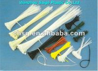 Quick release cable ties plastic