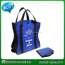 Top quality stylish foldable bag eco friendly bamboo bag