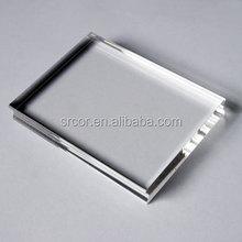 fashionable acrylic photo frame with pen holder