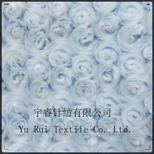 China Alibaba Jiangsu 7-40mm 100% polyester Knitted Minky PV plush fabric/Blanket Fabric/Toy Fabric
