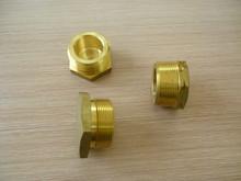 forged brass male thread end cap,brass hexagonal nut connector