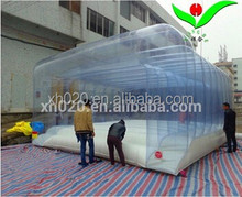 Best selling chongqi inflatable portable transparent tent for party 5.4m