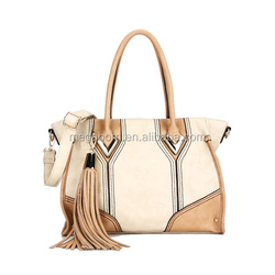 Fashion Tassel Lady Brand Handbag