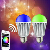 e27 wifi led bulb lamp bluetooth speaker bulb Audio Music Playing Lighting Bulb With Remote Control