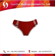 Hot selling low price huoyuan line young ladies of lingerie sexy lace underwear boxer