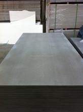 Cement Fiber sheet exterior wall panel
