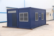 panelized decorated steel modular  worker prefab house/accommodation office on construction site