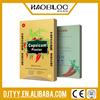 Capsaicin hot patch/popular pepper plaster/johnson and johnson capsicum plaster