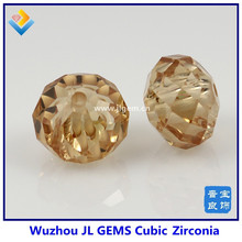 Synthetic Champ Special Round Cut CZ Beads for CZ Bracelet Jewelry