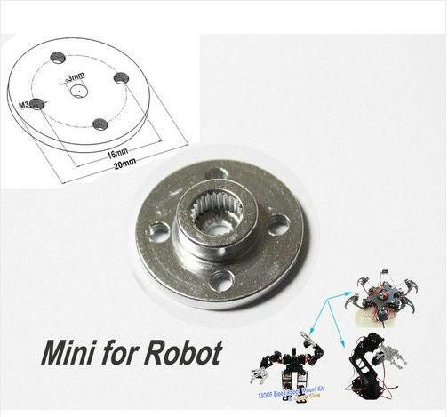 Servo bras robot pour futaba/hitec/jr/<span class=keywords><strong>towerpro</strong></span>/savox
